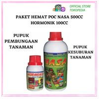 Paket Hemat POC NASA 500cc + Hormonik 100cc / Pupuk Organik Booster