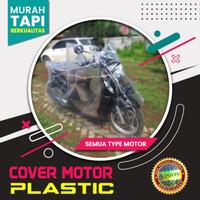 Cover Motor Sarung Motor Bodi Vario 125/150 Beat Mio Vespa Suprax Revo - MATIC