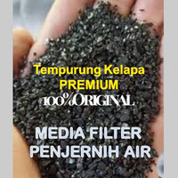Penjernih Air Karbon Aktif Arang Batok Kelapa Super Quality 20KG