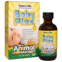 Nature's Plus Baby Plex Animal Parade 60ml / Multivitamin Bayi
