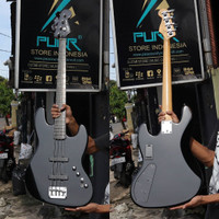 BASS SQUIER DELUXE JAZZ BASS™ IV ACTIVE EBONY FRETBOARD Made In Indo