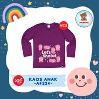 Kaos Anak Afrakids / Baju Anak / Atasan Anak Perempuan (AF222)