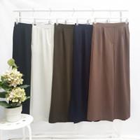 Celana Kulot Wanita Premium Bahan Kaos Stretch Tebal