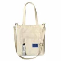 Tote Bag Goodie Bag Tas Belanja Selempang Wanita Homme Femme Kanvas