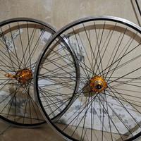 Wheelset / Velg Araya 26 36hole + Hub Freehub Raze Jangkrik for MTB