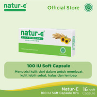 Natur-E 100 IU Soft capsule 16's