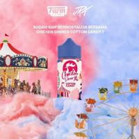 Chicken Dinner XL Cotton Candy 100ML by Farm Factory x JRX - Liquid
