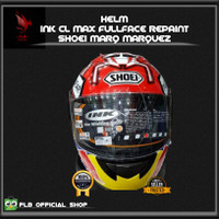 Helm Ink Cl Max Full Face Repaint Shoei Marq Marquez MM93