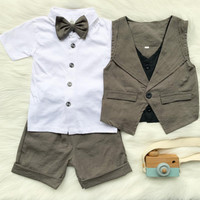 tuxedo bayi baju kondangan baby celana pendek