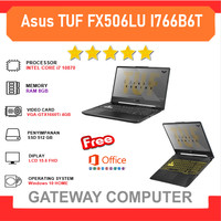 ASUS TUF FX506LU I766B6T - i7 10870 8GB 512ssd GTX1660Ti 4GB W10+OHS
