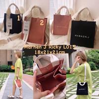 Tas Marhen J Ricky L015 Premium / Marhenj / Tas Kanvas / Canvas Bag