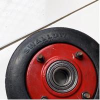 Roda ban karet lori / lory / troli / troly 7 inch swallow