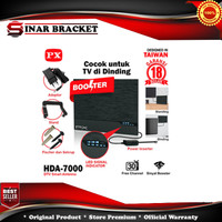 Antena Antene TV Digital Analog PX HDA 7000 Booster Indoor LED Bar
