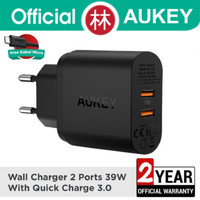 Aukey PA-T16 Wall Charger 2 Port 39W With Quick Charge 3.0