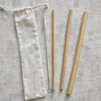 Sedotan Bambu Set / Bamboo Straw Set