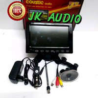 TV ONDASH LED 7 INCHI SUPPORT USB MMC MP5 AVI TV TUNER DENGAN BREKET T