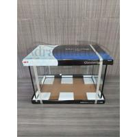 (GOJEK/GRAB) AQUARIUM GEX GLASSTERIOR 450 UK 45X20X22 CM AKUARIUM KACA