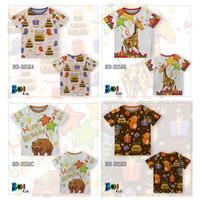 301KIDS Kaos Baju T-Shirt Anak Ulang Tahun Tema Hewan Jerapah Premium