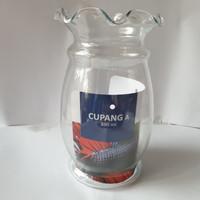 Aquarium Ikan Cupang /Vas Bunga ukuran1.5 lt AQ Cumi