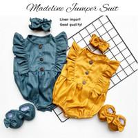 MADELINE JUMPER SET dress anak cewe perlengkapan babeebabyshop