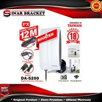 Antena/Antene TV PX DA-5200 Kabel 12M Booster Indoor-Outdoor