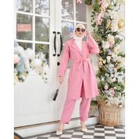Setelan Long Blazer dan Celana | Terminal Grosir | Fashion Wanita