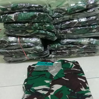 Baju pdl loreng TNI AD jatah terbaru 2020