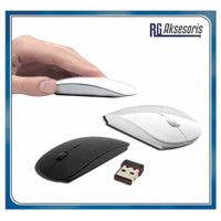 Mouse Wireless X3 APPLE SLIM WITH USB RECEIVER 2.4GHz MACBOOK / LAPTOP