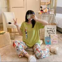 Piyama 449 Import Baju Tidur Panjang Anak Perempuan Remaja Wanita