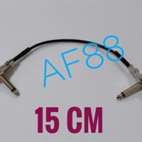 Kabel jumper efek gitar 15cm kabel canare L2B-2AT