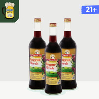 Anggur Merah GOLD Cap Orang Tua Kecil - Amer - 19.7% 275 ml