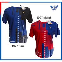 Baju Badminton Victor Import 1927 Kaos Badminton Victor Grade Ori