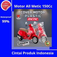 Sarung motor Plastik semua Jenis Metic 125cc Yamaha XRide X-Ride