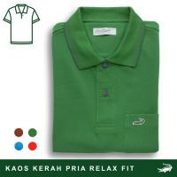 Crocodile COLE Forest - Baju Kaos Kerah Pria Men Polo Original