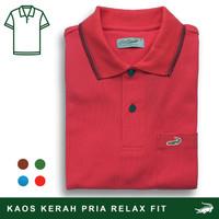 Crocodile COLE Chili - Baju Kaos Kerah Pria Men Polo Original