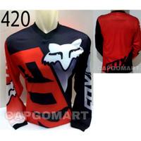 Baju JERSEY 420 Kaos Balap Sepeda Motor Trail Downhill Trek Bike MTB