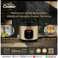 COSMOS Rice Cooker Stainless 2 Liter CRJ-9308