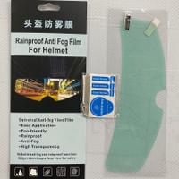 Rainproof Anti Fog Film For Helmet Visor Film Anti Embun Anti AirHujan