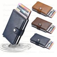 Tempat Kartu / Dompet Kartu / Smart Card Holder Leather