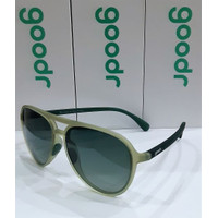 Goodr sunglasses MACH GS (Aviator) Series - BUZZ ON THE TOWER