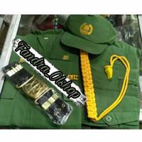 Baju Seragam / Setelan HANSIP / LINMAS Full Set. Kualitas Terbaik !