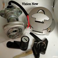 Kunci Kontak Assy Plus Tutup Tangki Yamaha Vixion New-Lighting NVL/NVA