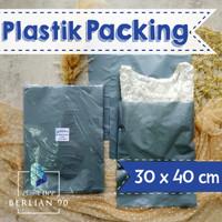 PLASTIK HD TANPA PLONG 30X40 CM / PLASTIK PACKING ONLINE