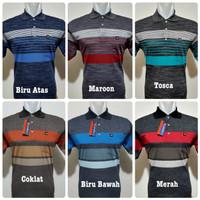Pedase Wear - Wangki Polo Salur Premium Size L/XL/2XL| Wangki Distro