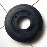 Roda ban karet lori / lory / troli / troly 8 inch swallow (tanpa velg)