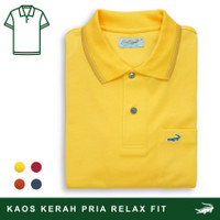 Crocodile COLE Pineapple - Baju Kaos Kerah Pria Men Polo Original