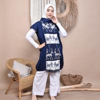 Dress Ethnic Mayola Sumba Tenun Ikat Dakara Indonesia