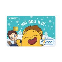 Kartu Flazz Limited Edition Icefest ILO Berlogo Baru