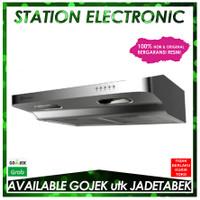 Electrolux EFT6033SP Penghisap Asap Dapur Cooker Hood Slimline 60cm