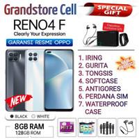 OPPO RENO 4F RAM 8/128 GB GARANSI RESMI OPPO INDONESIA